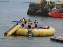 Water trampolin in Valentia Island