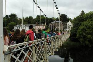 shaky bridge cork